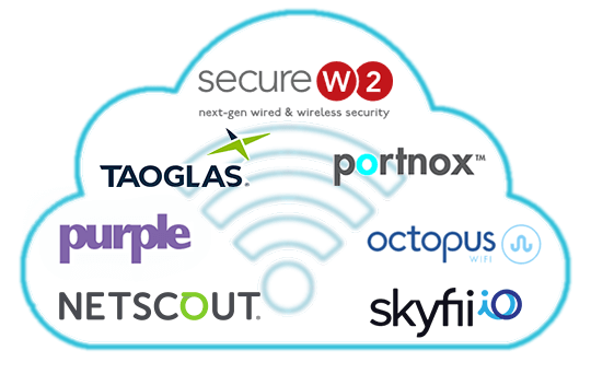 Our Wi-Fi Cloud marketplace provides easy to integrate solutions to help you secure your Wi-Fi environment.
