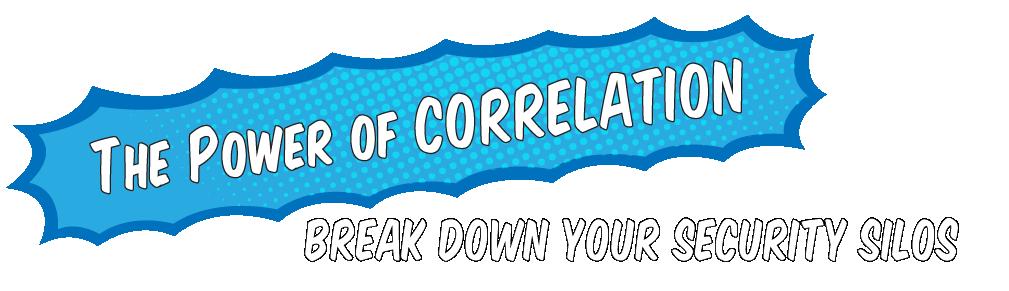 O poder da correlação:Acabecom osseus silos de segurança