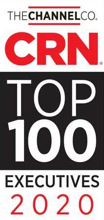 CRN Top 100 Exeutives 2020 Award