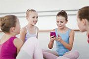 Photo: children at ballet class