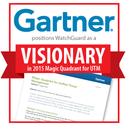 Gartner Names WatchGuard 'Visionary'