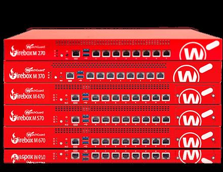 Appliance Firebox con montaggio su rack