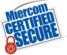 Miercom Certified Logo Badge
