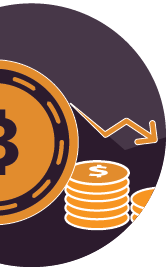 Icon: Cryptocurrency Crash