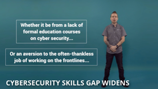 Video Thumbnail: Cyber Skills Gap