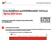 Thumbnail: AuthPoint/DNSWatchGO Activation Guide