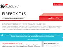 Datasheet: Firebox T15