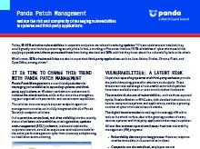 Panda Patch Management