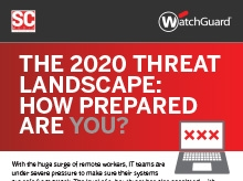 2020 Threat Landscape Infographic