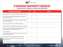 Thumbnail: Business Continuity Checklist