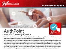Thumbnail: AuthPoint Brochure