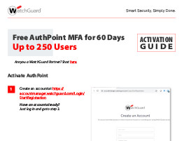 Thumbnail: AuthPoint MFA Activation Guide