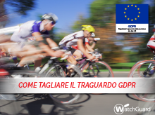Anteprima: eBook Getting to the GDPR Finish Line (Raggiungere il traguardo del GDPR)