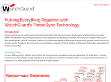 Thumbnail: ThreatSync Feature Brief