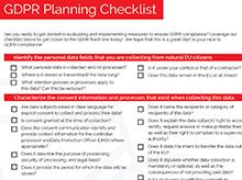 Thumbnail: GDPR Checklist