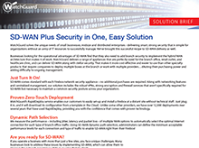 Thumbnail: WatchGuard and SD-WAN