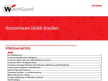 Vorschau: Ransomware White Paper