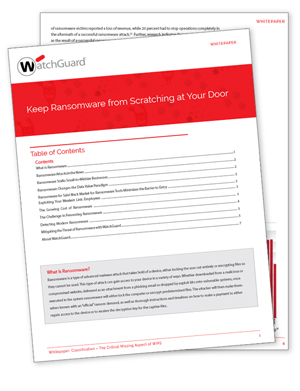 Thumbnail: Ransomware White Paper