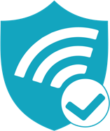 Trusted Wireless Environment blue shield logo